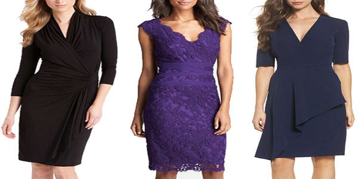 dresses perfect for a girl with broader waist