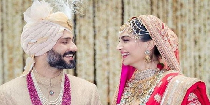 First Pics and Videos of Sonam's Wedding