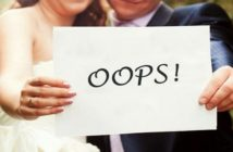 Wedding Photo mistakes